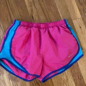 Nike Small Athletic Shorts Hot Pink